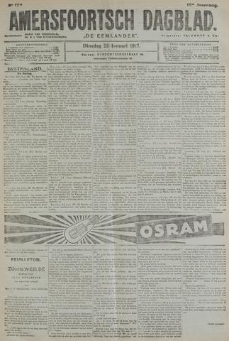 Amersfoortsch Dagblad / De Eemlander 1917-01-23