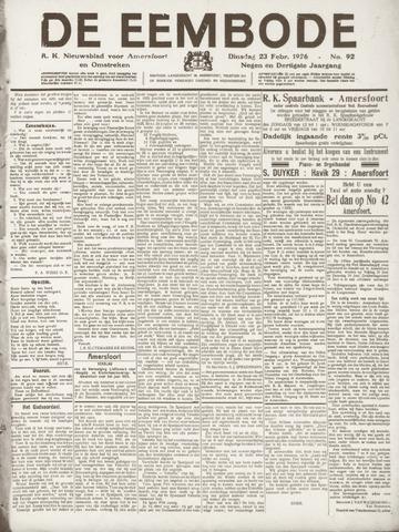 De Eembode 1926-02-23