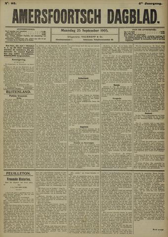 Amersfoortsch Dagblad 1905-09-25