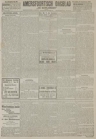 Amersfoortsch Dagblad / De Eemlander 1922-09-13