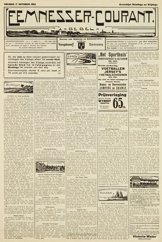 Eemnesser Courant 1924-10-17