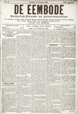 De Eembode 1898-02-19