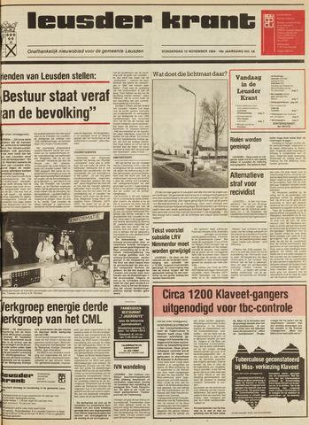Leusder Krant 1984-11-15