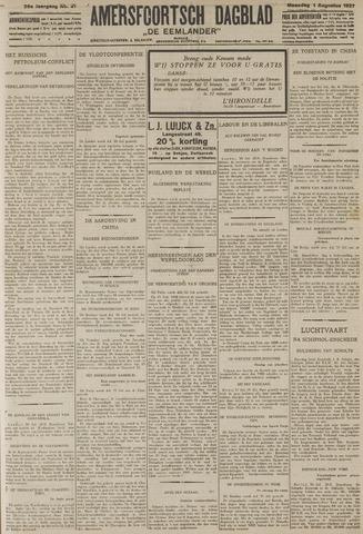 Amersfoortsch Dagblad / De Eemlander 1927-08-01