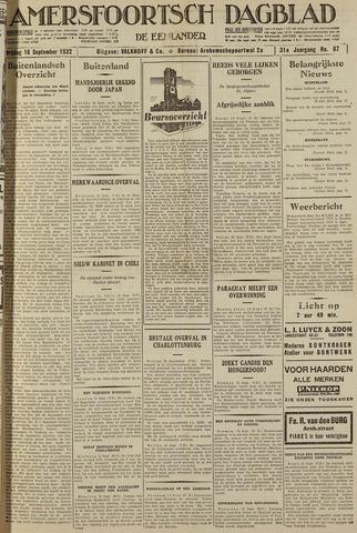 Amersfoortsch Dagblad / De Eemlander 1932-09-16