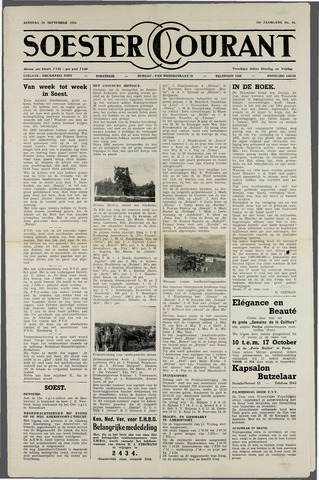Soester Courant 1954-09-28