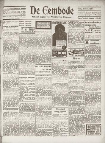 De Eembode 1933-02-24