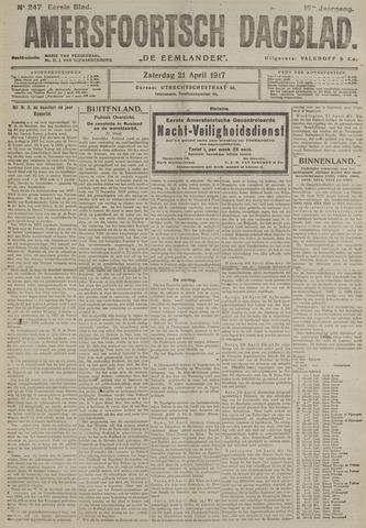 Amersfoortsch Dagblad / De Eemlander 1917-04-21