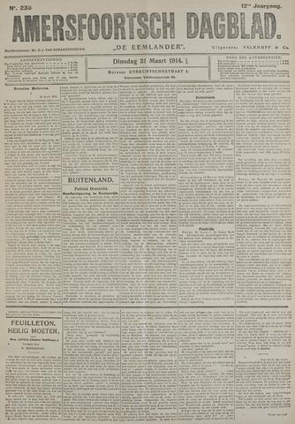 Amersfoortsch Dagblad / De Eemlander 1914-03-31