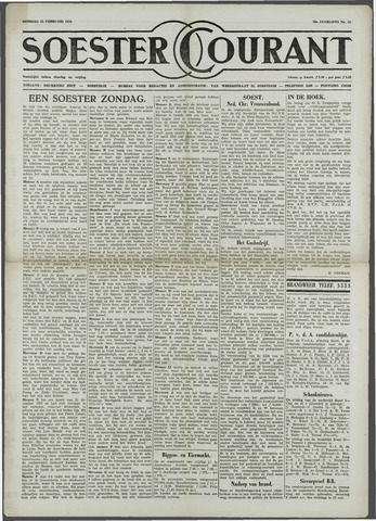 Soester Courant 1958-02-25