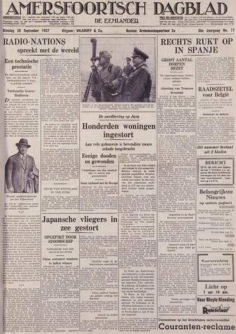 Amersfoortsch Dagblad / De Eemlander 1937-09-28