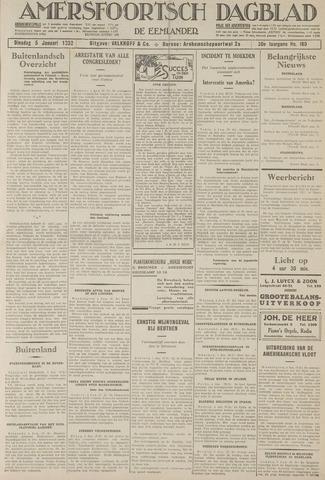 Amersfoortsch Dagblad / De Eemlander 1932-01-05