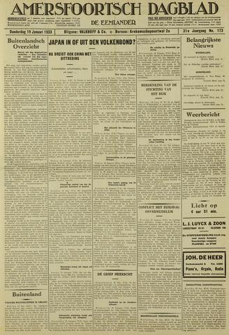 Amersfoortsch Dagblad / De Eemlander 1933-01-19