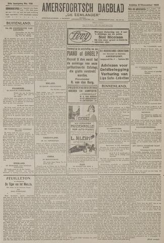 Amersfoortsch Dagblad / De Eemlander 1925-11-27