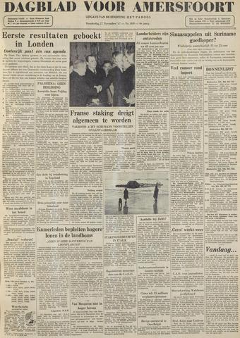 Dagblad voor Amersfoort 1947-11-27