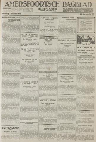 Amersfoortsch Dagblad / De Eemlander 1929-12-05