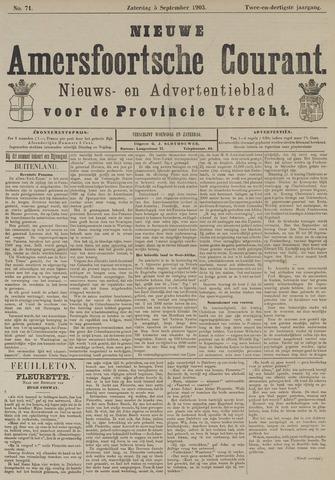 Nieuwe Amersfoortsche Courant 1903-09-05