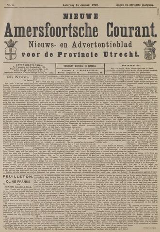 Nieuwe Amersfoortsche Courant 1910-01-15