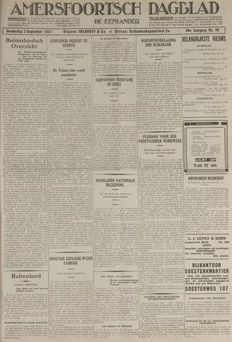 Amersfoortsch Dagblad / De Eemlander 1931-09-03