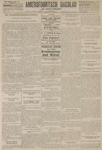 Amersfoortsch Dagblad / De Eemlander 1927-09-26