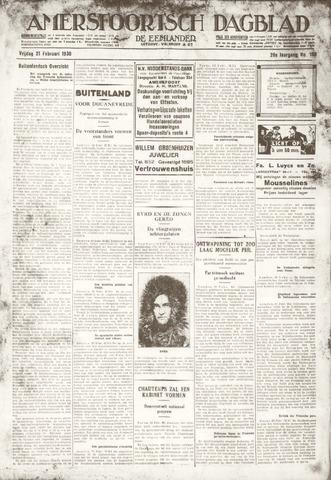 Amersfoortsch Dagblad / De Eemlander 1930-02-21