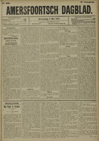 Amersfoortsch Dagblad 1910-05-04