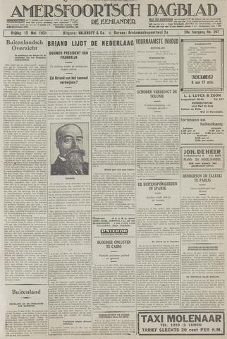 Amersfoortsch Dagblad / De Eemlander 1931-05-15