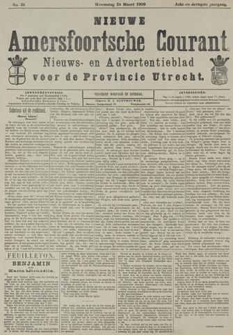 Nieuwe Amersfoortsche Courant 1909-03-24