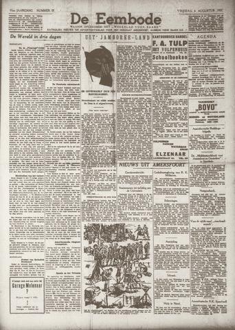De Eembode 1937-08-06