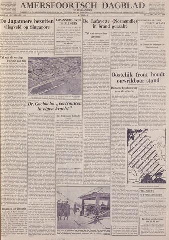 Amersfoortsch Dagblad / De Eemlander 1942-02-10