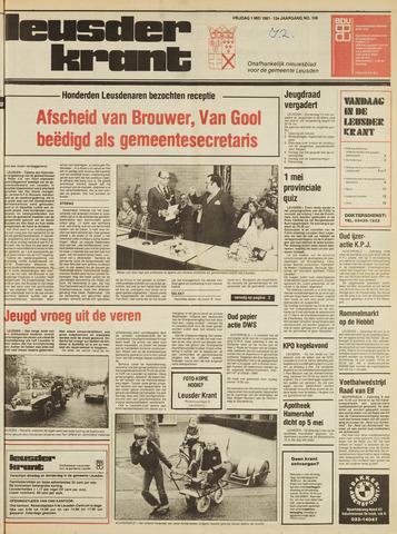 Leusder Krant 1981-05-01