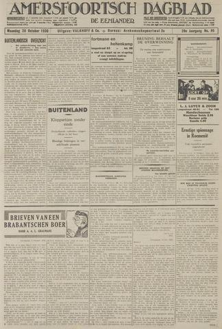 Amersfoortsch Dagblad / De Eemlander 1930-10-20