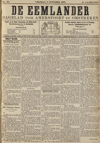 De Eemlander 1908-10-09