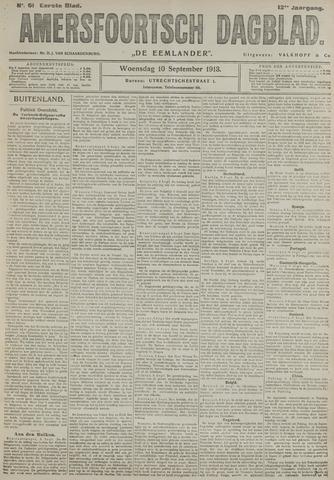 Amersfoortsch Dagblad / De Eemlander 1913-09-10