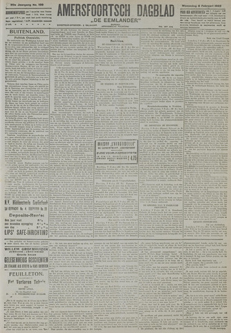 Amersfoortsch Dagblad / De Eemlander 1922-02-08