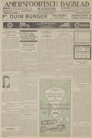 Amersfoortsch Dagblad / De Eemlander 1928-06-16