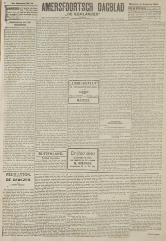 Amersfoortsch Dagblad / De Eemlander 1922-08-21