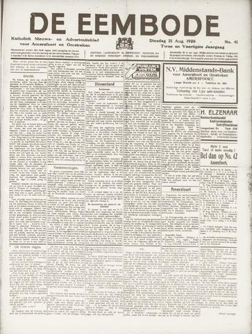 De Eembode 1928-08-21