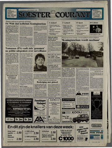 Soester Courant 1992-12-09