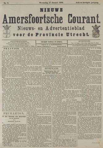 Nieuwe Amersfoortsche Courant 1909-01-27