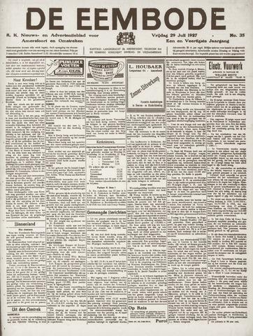 De Eembode 1927-07-29
