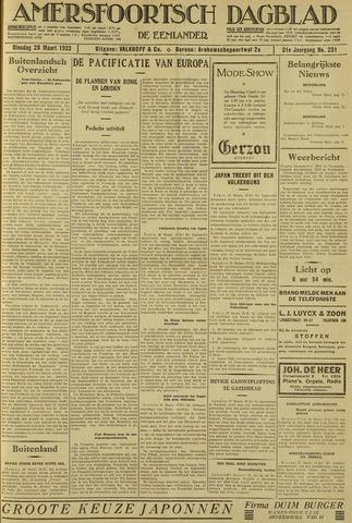 Amersfoortsch Dagblad / De Eemlander 1933-03-28