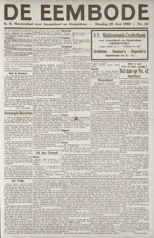 De Eembode 1922-06-20