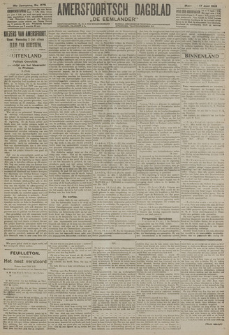 Amersfoortsch Dagblad / De Eemlander 1918-06-17
