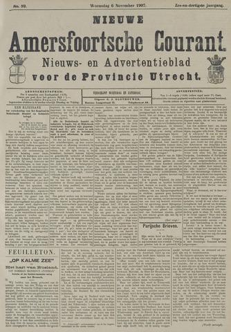 Nieuwe Amersfoortsche Courant 1907-11-06