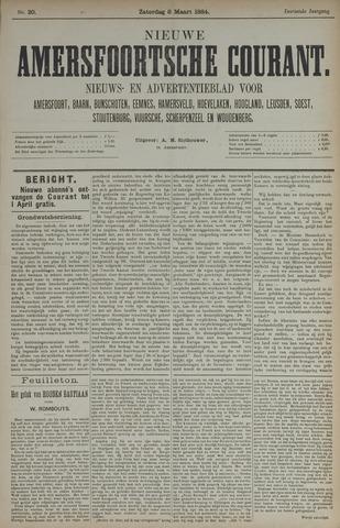 Nieuwe Amersfoortsche Courant 1884-03-06