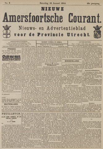 Nieuwe Amersfoortsche Courant 1914-01-10
