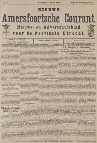 Nieuwe Amersfoortsche Courant 1910-01-19