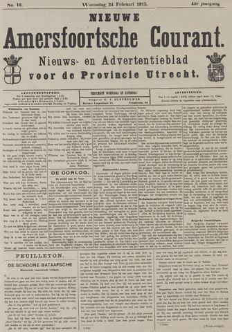 Nieuwe Amersfoortsche Courant 1915-02-24