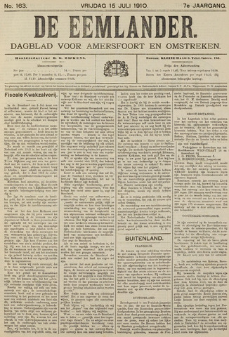 De Eemlander 1910-07-15